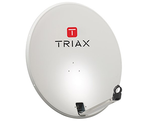 Антенна премиум TRIAX TD88 - Спутниковая антенна TRIAX 0.9 м, офсет, без кронштейна (Дания)