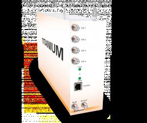 8700 - TITANIUM 4 - Компактная ГС Вх. 4 тюнера DVB-S/S2, Вых. 4 мультиплекса DVB-C/T