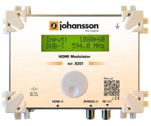 8201 - HDMI Mодулятор - Модулятор HDMI в DVB-T и ISDB-T: 1 HDMI вх / 1 RF вх - вых