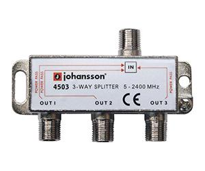 4503 - Разветвитель на 3 отвода/ 3 DC / 5-2340 MHz