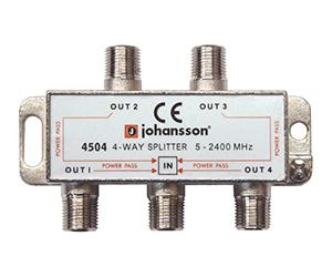 4504 - Разветвитель на 4 отвода/ 4 DC / 5-2340 MHz