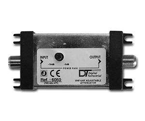 6050E - Аттенюатор 3-18 dB VHF-UHF