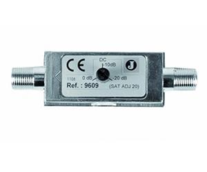 9609 - Аттенюатор 0-20 dB, диапазон частот 700 - 2150 МГц