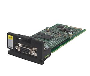 Входной модуль AV - Входной модуль преобразования аналогового аудио/видео сигнала в поток данных MPEG2/MPEG4