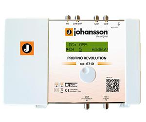 6710 - Profino Revolution - Программируемый фильтр усилитель 4 входа: 1 FM + 1 DAB/VHF + 2 UHF